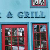 Tap n Grill Doorway