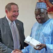 President Dooley in Ghana